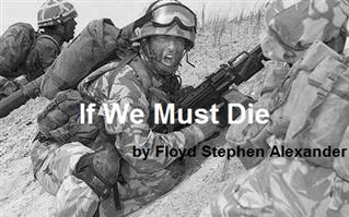 If We Must Die - Playscripts, Theatre Scripts, Stage Plays