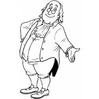 free printable benjamin franklin coloring pages | Children'sTheatre and Youth | Heartland Plays ...